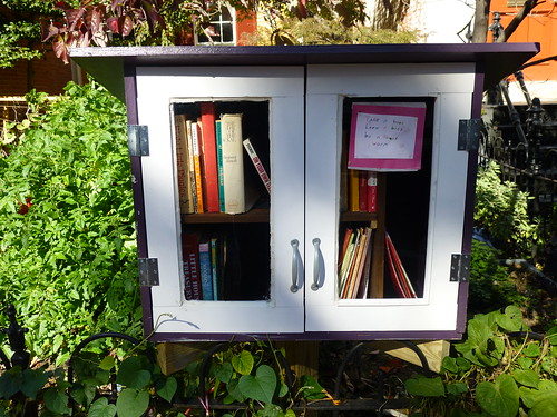 Sidewalk Library by Mike Licht, NotionsCapital.com, on Flickr