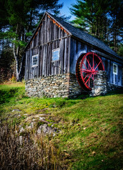 Vermont water wheel (mike_orlando) Tags: autumn nikon vermont newengland rockingham d7000
