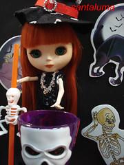 Aisha e o Halloween!!