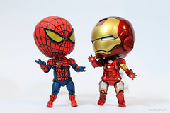 Cute Spiderman Chibi Chibi Spiderman Ironman