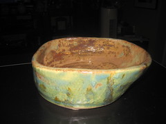 bowl clay pottery