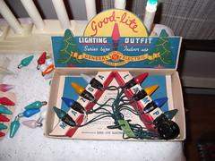 prewar Goodlights c6 string (brown_dan72) Tags: christmas lights series c6 goodlite gemazda