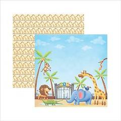 Folha Scrap DF Zoologico Entrada SDF250 Toke e Crie (ScrapTime Floripa) Tags: floripa scrapbook scrapbooking florianópolis scrap produto furadores scraptime papél scraptimefloripa