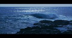 Pointe au sel Nuit americaine (pixeldealer) Tags: sea beach night barrel wave crushing vague volcan stleu pointeausel