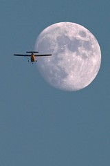 Crossing the Moon (ChristinaPhelps808) Tags: sky moon silhouette plane airplane eclipse flying losangeles wings crossing path luna astrophotography astronomy topanga et lunar crossinginfrontof