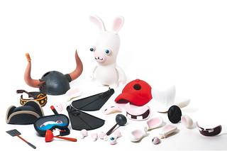 McFarlane Toys《瘋狂兔子全面侵略》變臉公仔組合