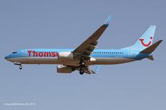 G-FDZX - 2011 build Boeing B737-8K5, on approach to Runway 24L at Palma (egcc) Tags: thomson boeing airways mallorca palma tui majorca b737 pmi b738 lepa b7378k5 b737ng gfdzx 37258