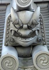 roof tile (richard.scott1952) Tags: leica roof japan architecture tile kyoto shingle decoration m8