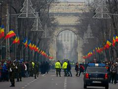 1st December 2013 - National Day of Romania in Bucharest (Kiseleff Boulevard) (Carpathianland) Tags: street people pedestrian scene pedestrians streetscape passerby bucuresti parada oameni ziua bulevardul nationala romaniei pietoni trecatori passerbies