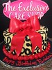 "Cheetah Print Cake • <a style=""font-size:0.8em;"" href=""http://www.flickr.com/photos/40146061@N06/11196502226/"" target=""_blank"">View on Flickr</a>"