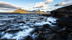 Elgol (Tom Green Photo) Tags: longexposure seascape mountains clouds waves isleofskye tide splash cuillins d800 elgol blackcuillins leefilters redcuillins nikond800 nikon1635