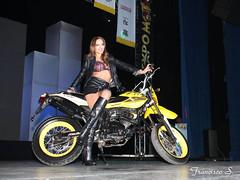 Moto Fashion_0503 (Pancho S) Tags: girls woman cute sexy girl beauty fashion mujer model glamour chica expo boots femme models moda modelos modelo sensual upskirt chicas mujeres filles belleza botas motos expos motocycle bellezas sensualidad downblouse motocicletas modle modello pasarelas motofashion expomoto motochica motochicas