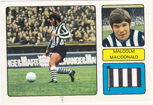 FOOTBALL STCIKER-MACDONALD