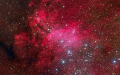 Pink-Galaxy-Stars (GurshobitBrar) Tags: blue red galaxy planets newworlds