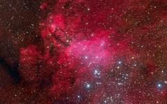 Pink-Galaxy-Stars (GurshobitBrar) Tags: blue red galaxy planets newworlds