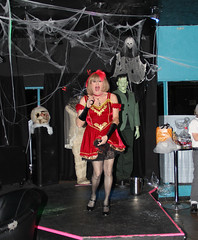 new95402-IMG_6013t (Misscherieamor) Tags: halloween costume tv feminine cd nightclub tgirl transgender mature sissy tranny transvestite slip monsters crossdress ts gurl petticoat tg travestis travesti travestie m2f xdresser tgurl satinshowing