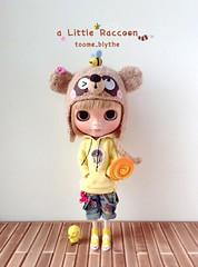 【toome_Blythe】bearhat—Little Raccoon(Bee)