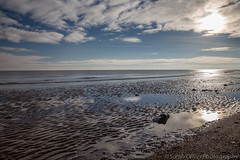 The Beach (sarahOphoto) Tags: wood uk sea reflection beach sand painted united steps kingdom huts essex frinton groins frintononsea