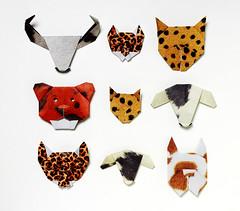 Origami création - Didier Boursin - Tableau de chasse