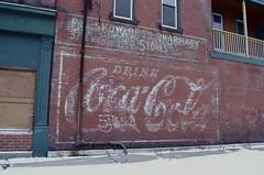 1/365 (GabbyMarek) Tags: street old winter snow ny cold building art fashion project buffalo cola drink down run 365 coca