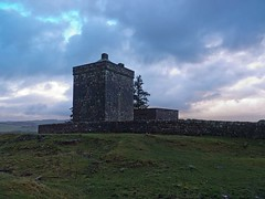 Repentance Tower located on Trailtrow Hill near Hoddam on a wet and stormy day 2nd Jan 2014 (penlea1954) Tags: uk house tower english century john scotland hill border parties chapel battle lord maxwell agnes sir 16th dumfries galloway repentance annandale treachery raiding dumfriesshire douglases herries durisdeer terregles trailtrow