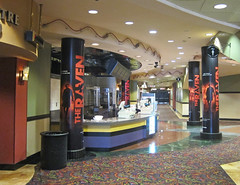 Entertainment, The Raven at Regal Edwards Long Beach, Colun Wraps