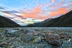 Franz Josef Valley (Xuberant Noodle) Tags: new beautiful earth glacier zealand franz valley josef hdr