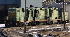 Ceredo, West Virginia (Bob McGilvray Jr.) Tags: railroad green yard train tracks engine caboose locomotive coal krt highhood ceredowestvirginia ceredodock kanawhariverterminals