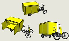 Vrachtfiets-van-multi (@WorkCycles) Tags: bike electric modern big workers box transport cargo brussel heavyduty ebike elektrische workcycles bezorg vrachtfiets pedalec bezorgfiets