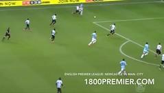 ผลบอลพรีเมียร์ลีก ระหว่าง Newcastle United VS Manchester City on Jan 12, 2014