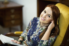Celebrating New Year 2014 (LikClick Photography) Tags: classic design interior womanportrait