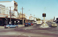 Commercial Road, Port Adelaide (paelocalhistory) Tags: road retail buildings transport places roads commercialroad portadelaide motorvehicle