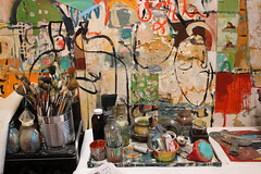 Sausalito Artists Open Studios_06 (skipmoore) Tags: art painting artist brushes paints sausalitoartistsopenstudios