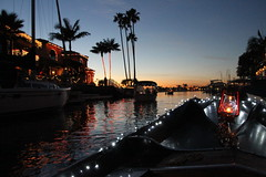 Ride in the Water (Hannah Golden Design) Tags: sunset palmtrees gondola