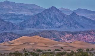 Mesquite Dunes Twilight