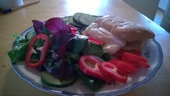 (angeni101) Tags: food cooking salad eating foodies setup poachedegg