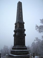 Lilienstein Obelisk (blauezampel) Tags: berg rock germany deutschland natur climbing sachsen summit aussicht wandern felsen gebirge schsischeschweiz elbsandsteingebirge saxonia gipfel