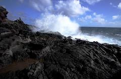 Makapuu Splash IV (Steven W Lum) Tags: hawaii lava oahu shoreline makapuu crashingwave
