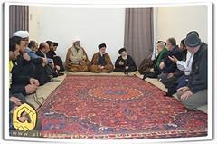 Sheikh with Grand Ayatollah al-Hakim