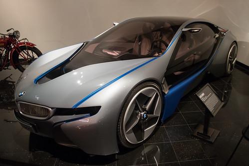 museum nikon automobile automotive bmw concept nikkor petersen i8 d4 petersenautomotivemuseum 2013 nikond4 2470mmf28g