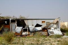 "Irqah hospital (Flsimages) Tags: old urban club photography photo desert decay kingdom haunted worn saudi arabia 1855 riyadh saudiarabia destroyed ksa erga xe1 18055 duji ""saudiarabia"" irqah eirgah"