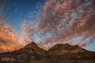 Goat Mountain Sunset