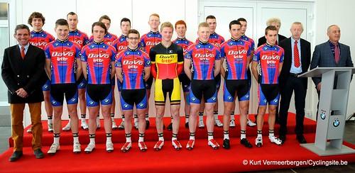 Ploegvoorstelling Davo Cycling Team (4)