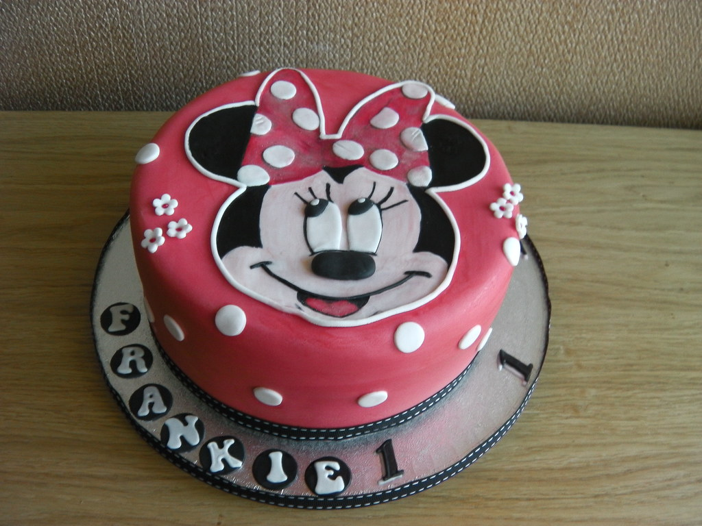 Minnie Mouse Birthday Cake Auckland Image Inspiration of Cake and