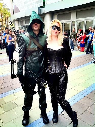 Green arrow black canary cosplay