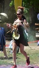 DSC_0129 (wlcausey) Tags: 3 men beer bar costume women mud cosplay over games run medieval dirt fireman firemen fest heavy firefighter weight renaissance mile throw 5k spear the colorup 2014rmr