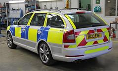 Decommissioned Hampshire Police Workshop Spare Skoda Octavia VRS 4798 - HX10 ENF (IOW 999 Pics) Tags: police hampshire workshop vehicle spare skoda octavia vrs decommissioned hx10enf