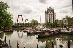 oude Haven Rotterdam (JillchenB) Tags: sky cloud holland architecture clouds rotterdam himmel wolken ciel architektur holanda niederlande hollande oudehaven alterhafen neatherland