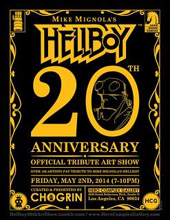 HELLBOY 《地獄怪客》20 週年紀念展