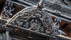 Кумари Бахал в Катманду (Непал)